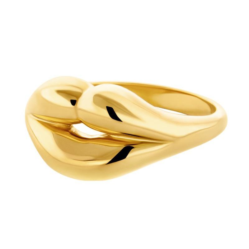 HONOR Δαχτυλίδι από επιχρυσωμένο Ασήμι 925 HONORR14