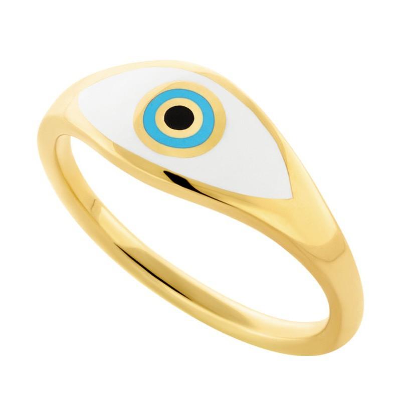 HONOR Δαχτυλίδι από επιχρυσωμένο Ασήμι 925 HONORR21