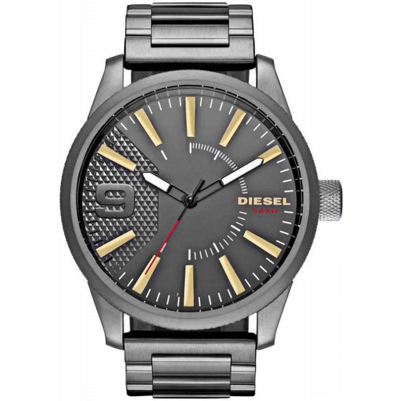 Ρολόι DIESEL DZ1762 Rasp με Μαύρο Ατσάλινο Μπρασελέ