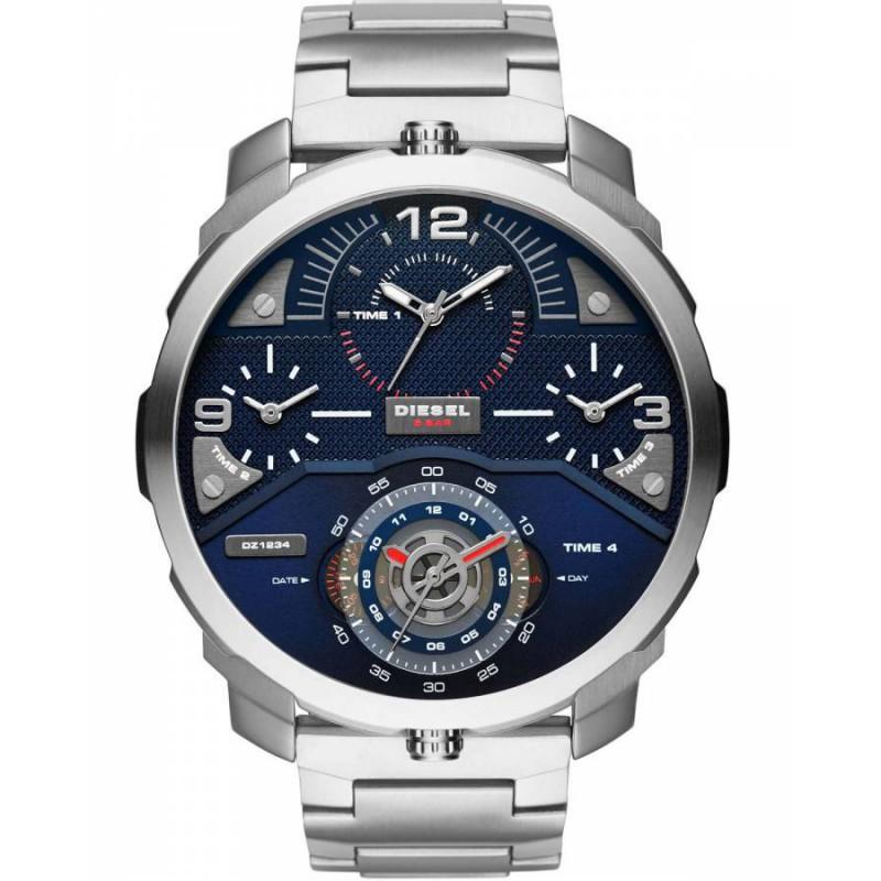 Ρολόι DIESEL DZ7361 Machinus με Ατσάλινο Μπρασελέ