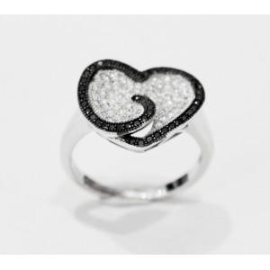 Δαχτυλίδι σε ασήμι DM57S