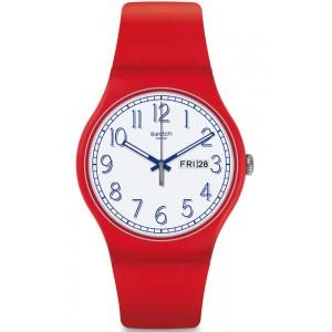 Ρολόι SWATCH SUOR707 Red Me...