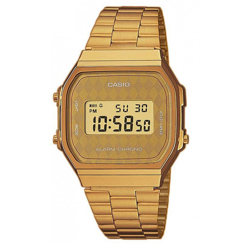 Ρολόι CASIO A-168WG-9BWEF Collection Χρυσό