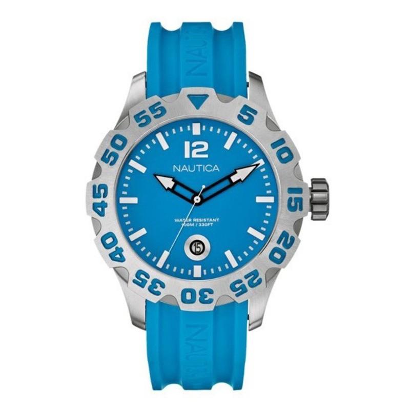 Nautica BFD100 light blue Watch A14602G