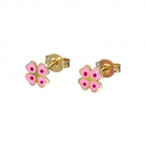 Σκουλαρίκια χρυσά SK301