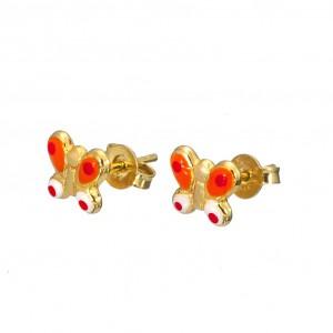 Σκουλαρίκια χρυσά SK309