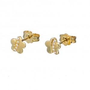 Χρυσά σκουλαρίκια SK355