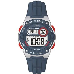 Ρολόι JAGA M106X-Blue Μπλέ...