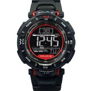 Ρολόι JAGA 344G-2Red Four-G...