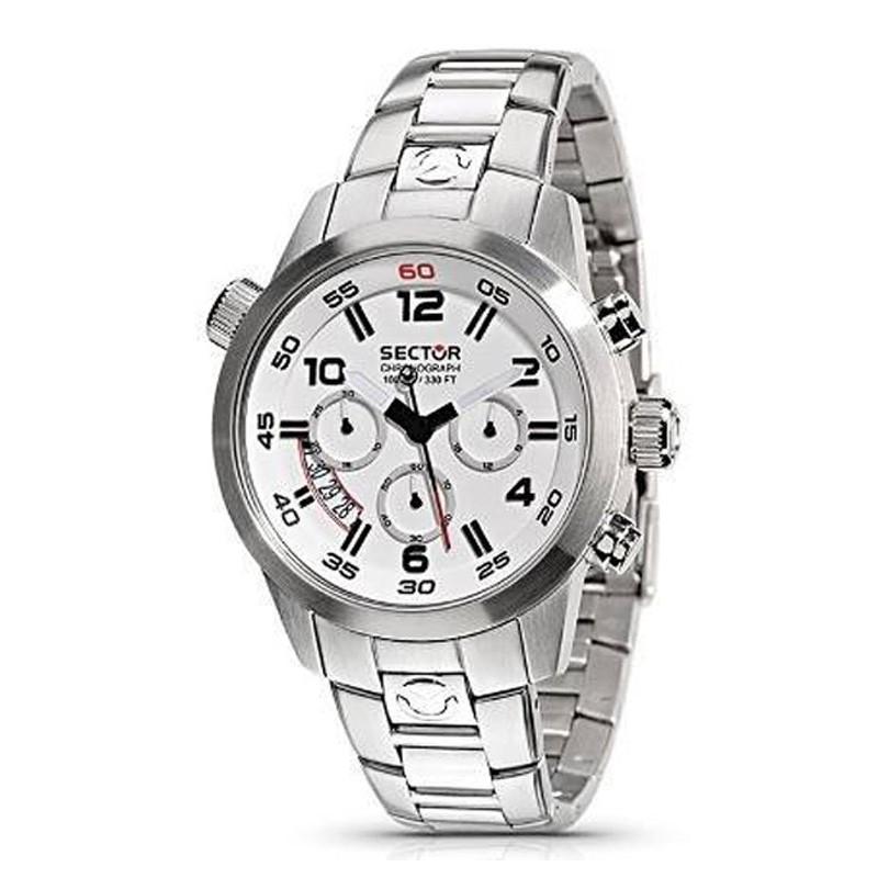 Ρολόι SECTOR R3273702045 με Χρονογράφο και με Ατσάλινο Μπρασελέ