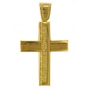 Σταυρός διπλός χρυσός...