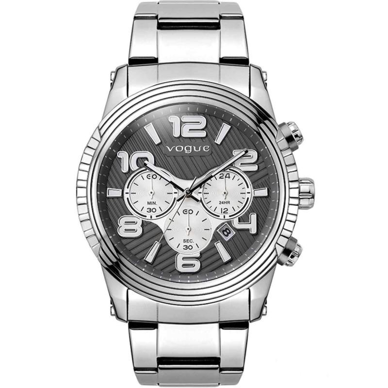 VOGUE California Chronograph Stainless Steel Bracelet 55018.3