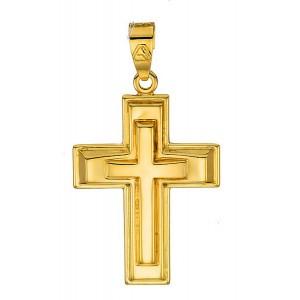 Χρυσός  σταυρός 14καρατίων...