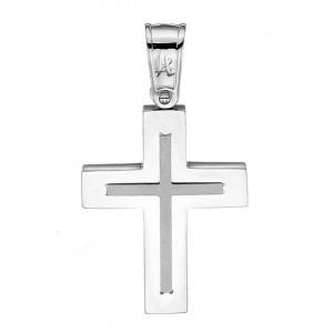 Λευκόχρυσος σταυρός 14...