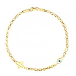 Χρυσό Βραχιόλι BA283
