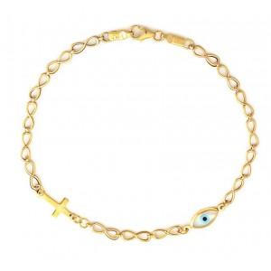 Χρυσό Βραχιόλι BA279