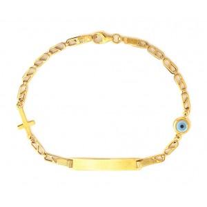 Χρυσό Βραχιόλι BA302