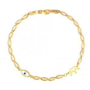 Χρυσό βραχιόλι BA288