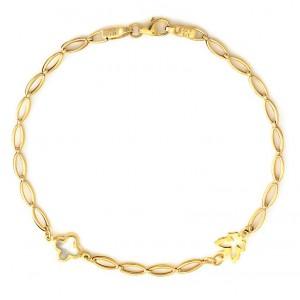 Χρυσό βραχιόλι BA276