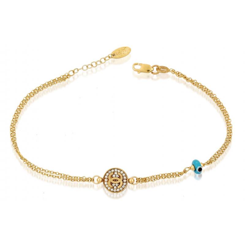Γυναικείο Χρυσό βραχιόλι  BRA11021