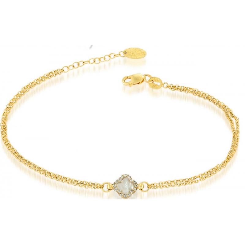 Γυναικείο  χρύσο βραχιόλι BRA11012