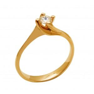 Ροζ χρυσό δαχτυλίδι...