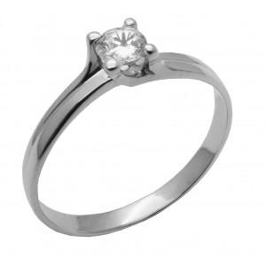 Λευκόχρυσό δαχτυλίδι...