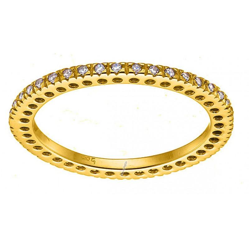 Xρυσό δαχτυλίδι 14καρατίων DG317KBAR9