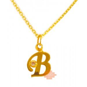 Χρυσό μονόγραμμα ''Β'' MN16