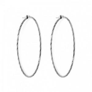 Σκουλαρίκια Senza Steel 7cm...