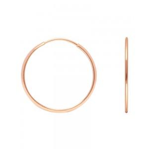 Ροζ-χρυσοί κρίκοι F031933R...