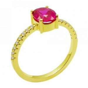 Χρυσό γυναικείο δαχτυλίδι 9...