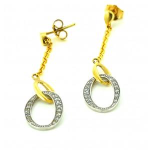 Χρυσά σκουλαρίκια SK01 14...