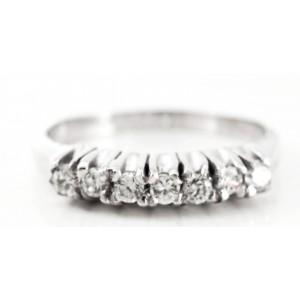 Λευκόχρυσο δαχτυλίδι DX090...