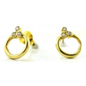 Χρυσά σκουλαρίκια 14...