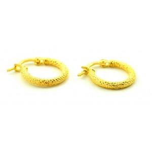 Χρυσά σκουλαρίκια κρίκοι 14...