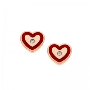 Σκουλαρίκια SENZA Red...