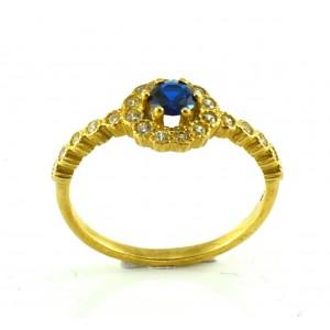 Χρυσό δαχτυλίδι 9 καρατίων...