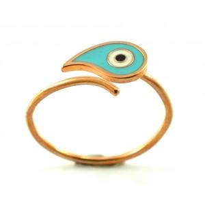 Ροζ χρυσό δαχτυλίδι 9...