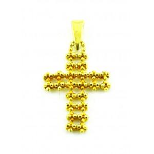 Αλυσιδωτός σταυρός χρυσός...