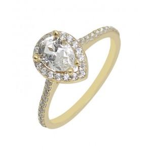 Χρυσό δαχτυλίδι 14 καρατίων...