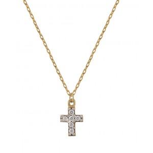 Χρυσό κολιέ σταυρός 9...