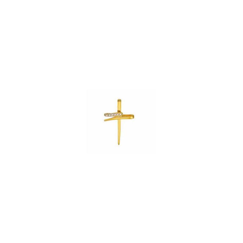 Χρυσός  σταυρός 14 καρατίων ST279BAR8