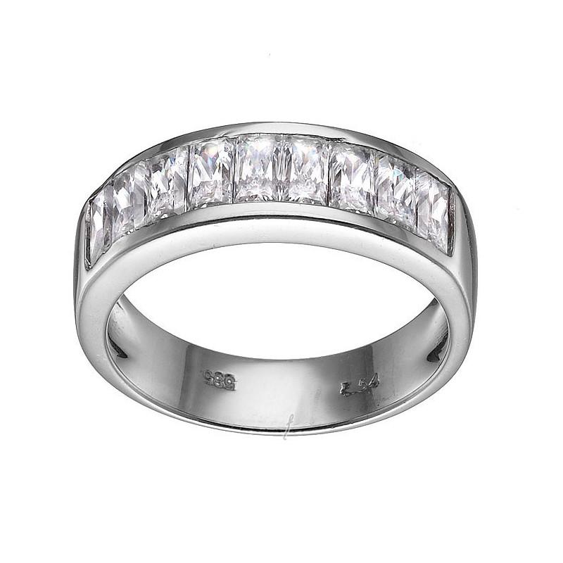 Λευκόχρυσο δαχτυλίδι 14 καρατίων DX137