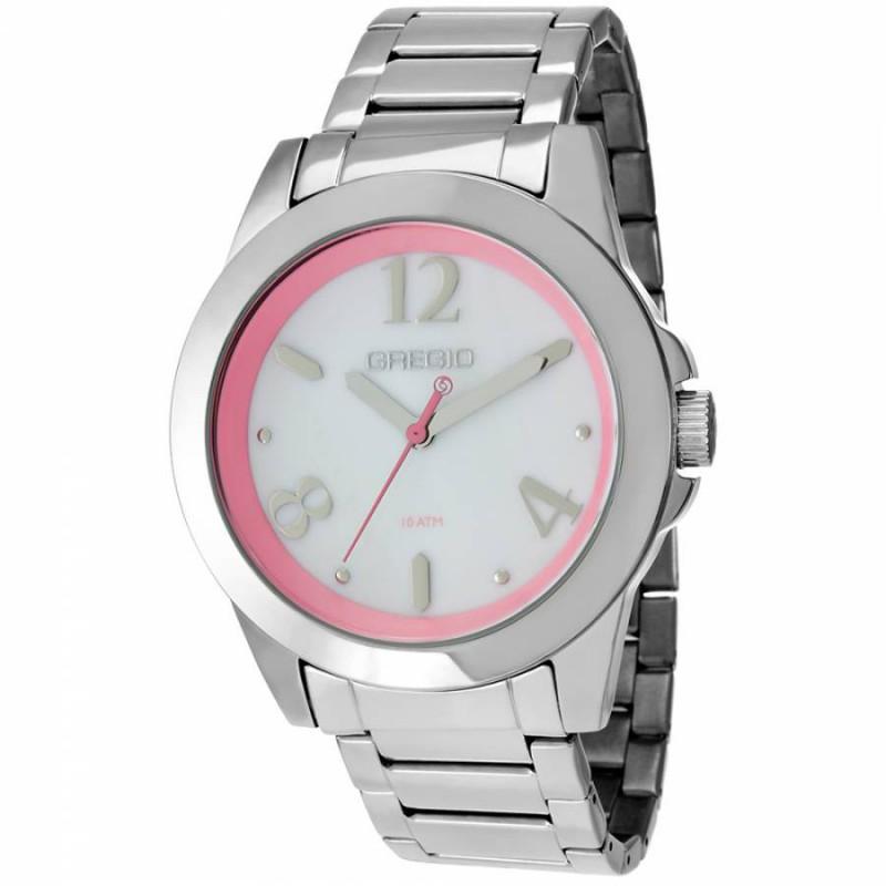 Ρολόι GREGIO GR100012 Essential με Ατσάλινο Μπρασελέ