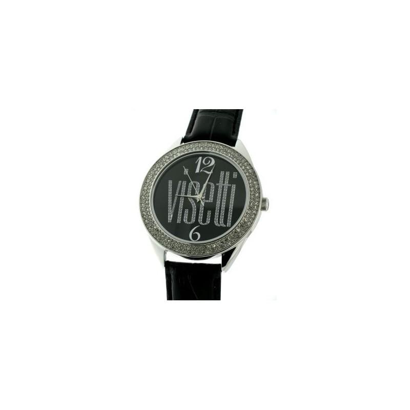 Γυναικείο ρολόι της Visetti RA-WSW02B Black Leather Strap