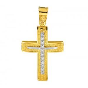 Χρυσός σταυρός 14καράτια...