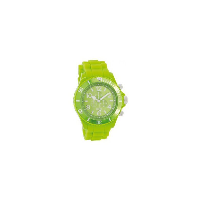 Ρολόι OOZOO C4835 Timepieces Small με Πράσινο Καουτσούκ Λουράκι