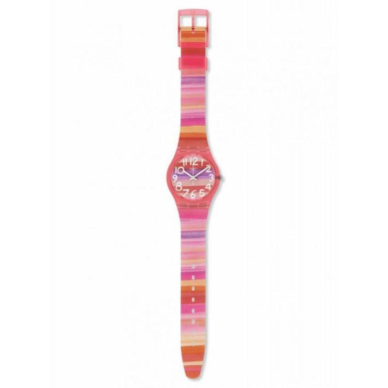 Ρολόι SWATCH GP140 Astible με Πολύχρωμο Καουτσούκ Λουράκι