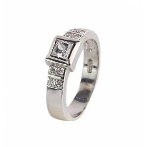 Λευκόχρυσο δαχτυλίδι...